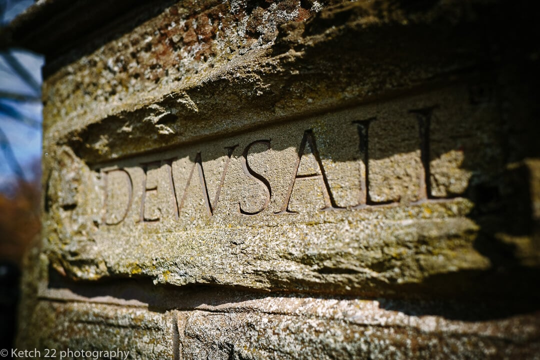 Detail photo of Dewsall Court sign