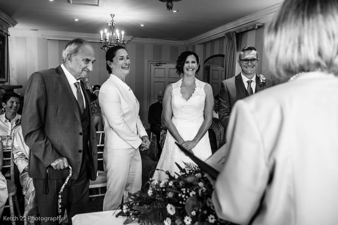 Gay wedding ceremony in Gloucestershire