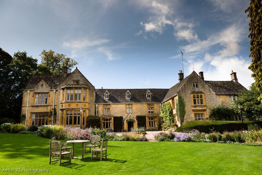 View of Lords of the Maonor wedding venue in Gloucestershire