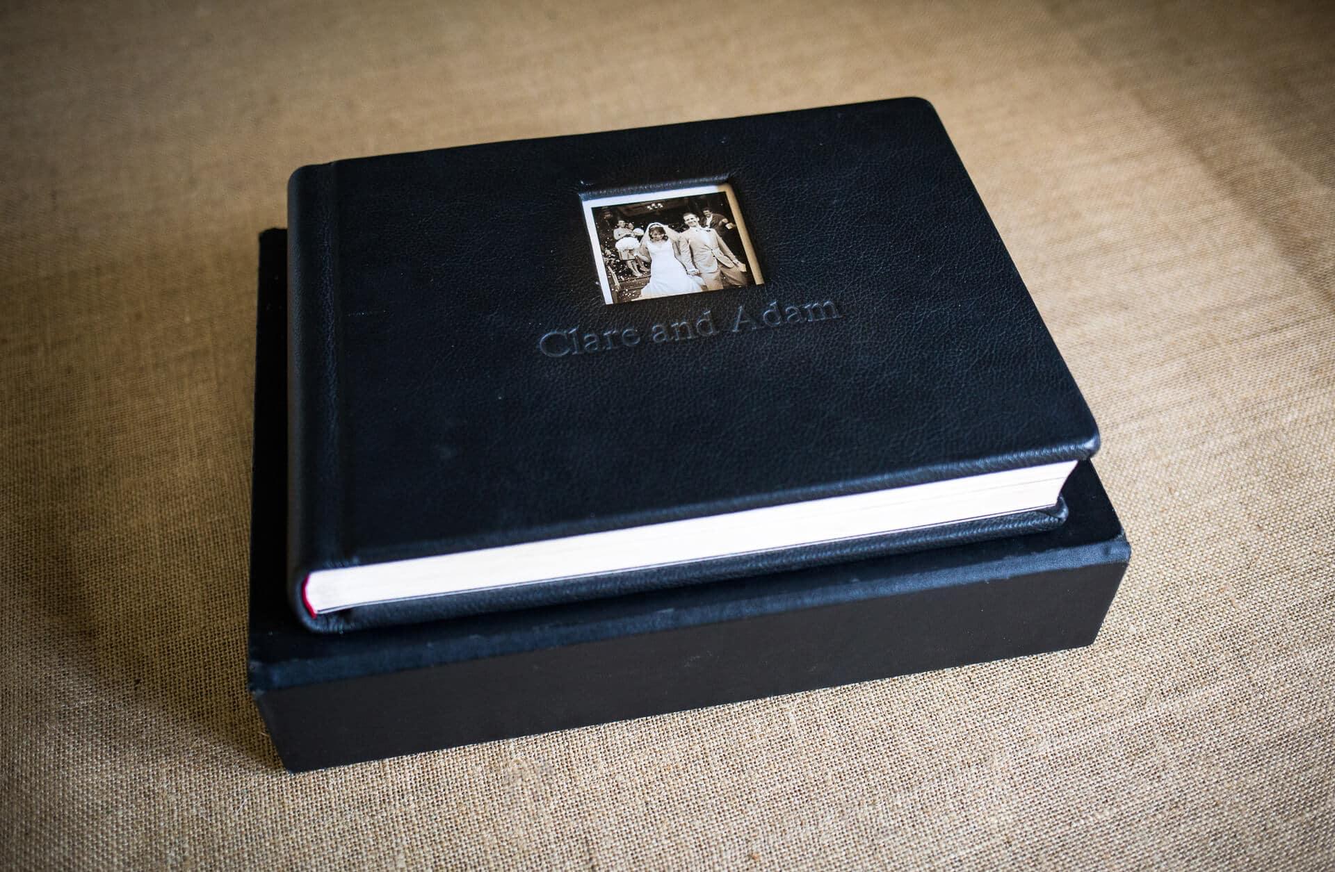 Graphi studio wedding album and box