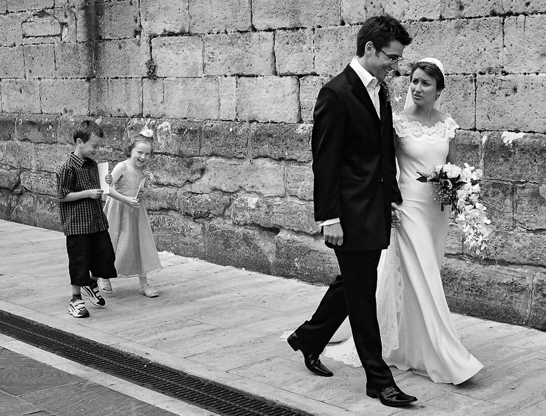 Photograph of bride and groom for top 5 wedding dress shops in Gloucestershire blog