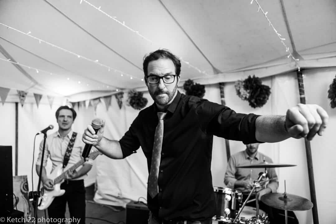 Live marquee wedding band