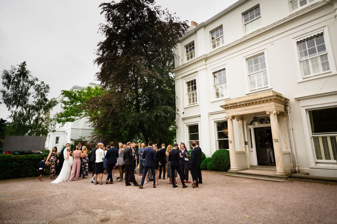 Guests at No 38 wedding Cheltenham