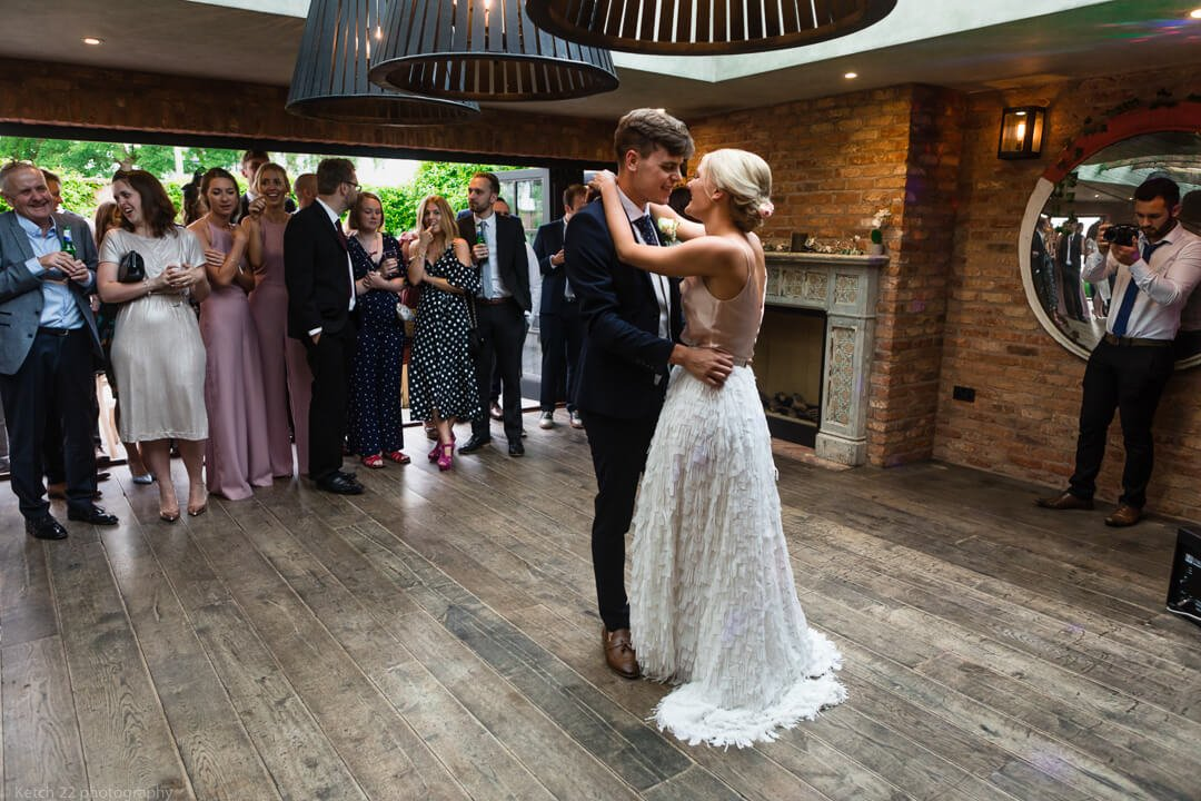 First dance at Cheltenham wedding
