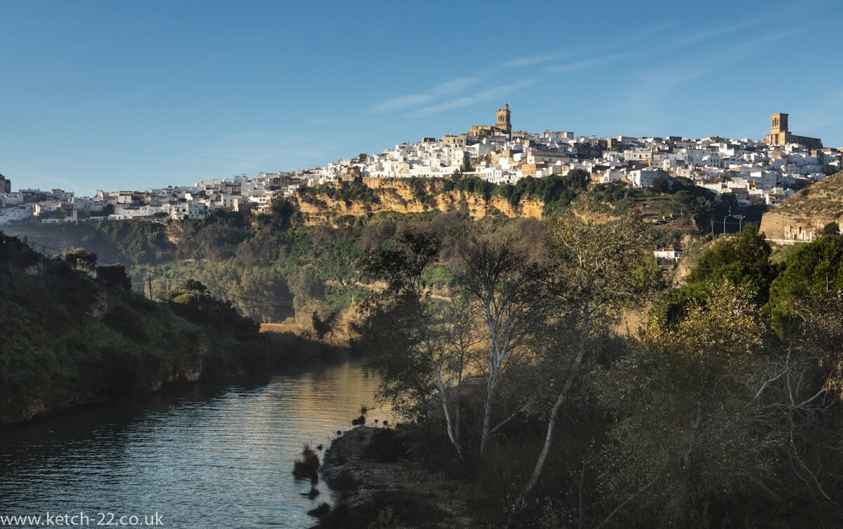 Early morning view of Arcos de la Frontera
