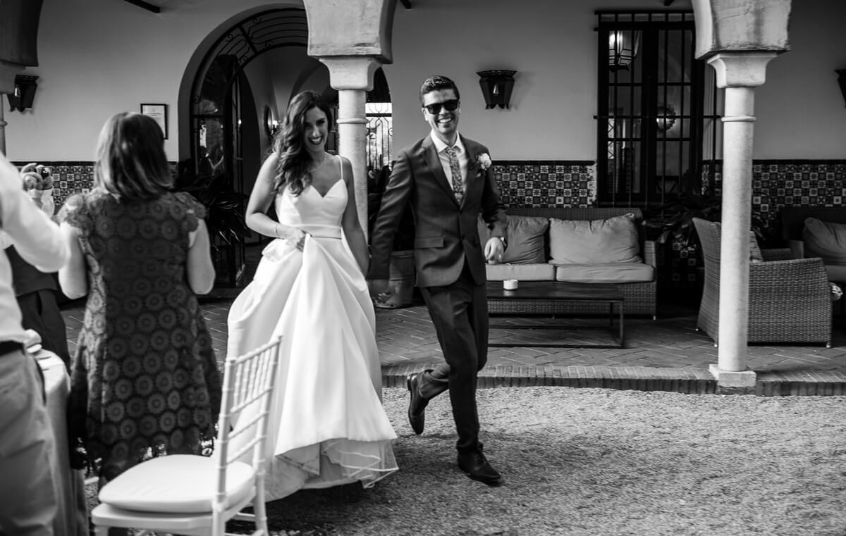 Documentary photo at Wedding in Malaga Spain