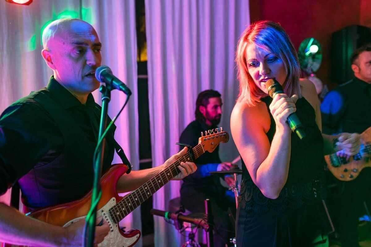 Live wedding band in Malaga Spain