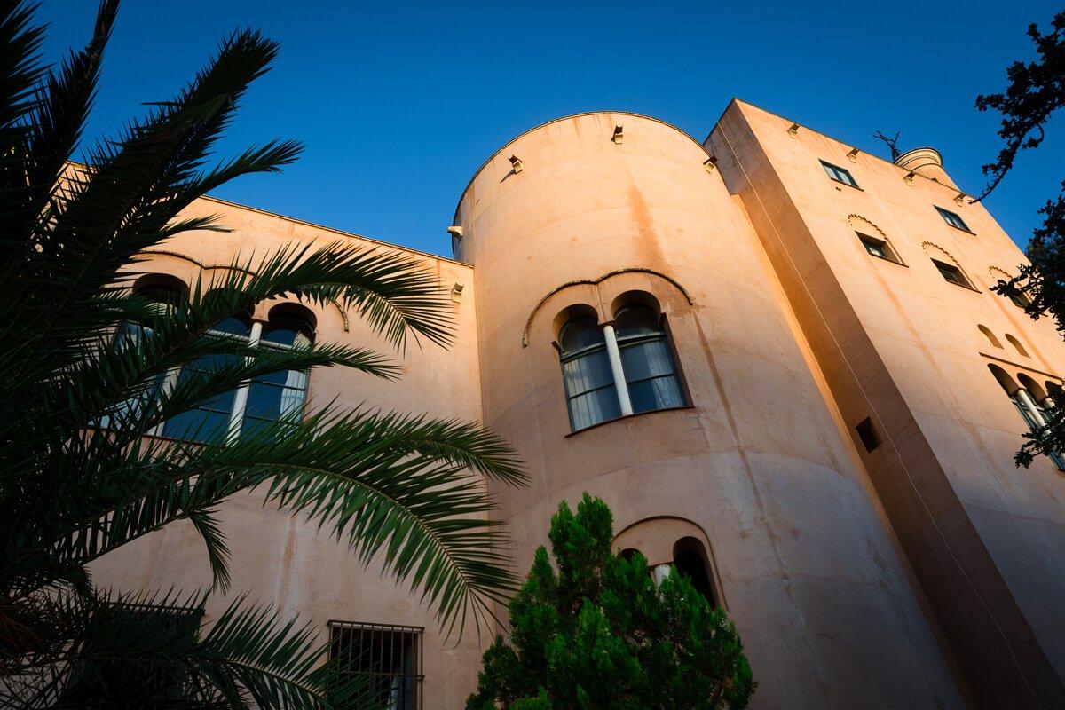 Moorish architecture spanish wedding venue