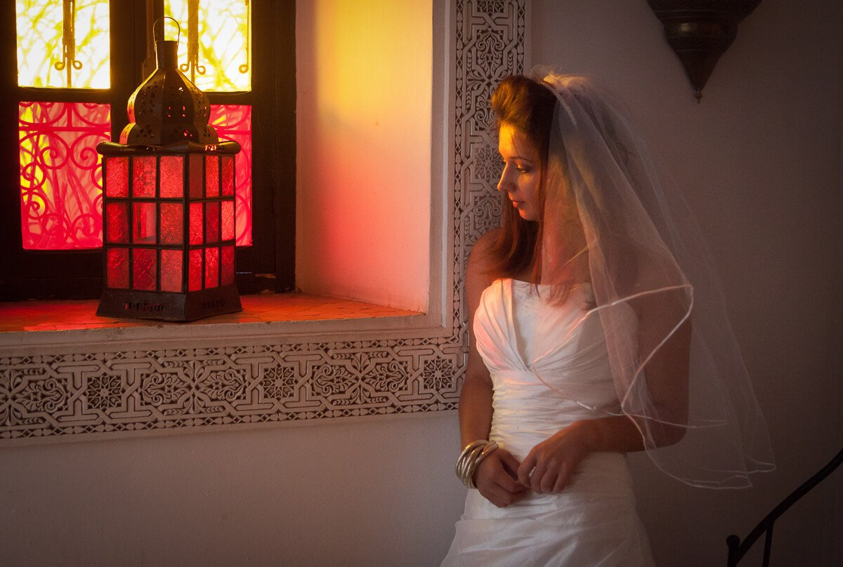 Documentary wedding photography Andalusia Spain / bride portrait
