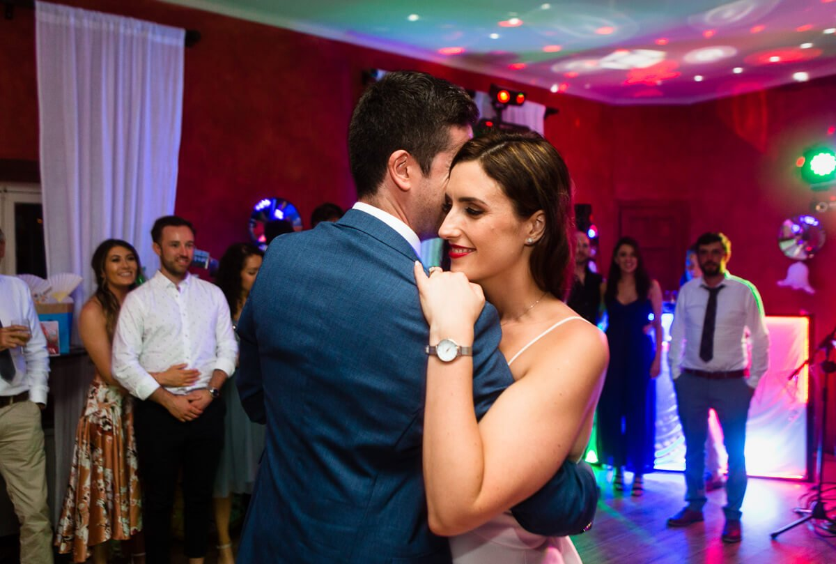First dance at Andalucian Wedding